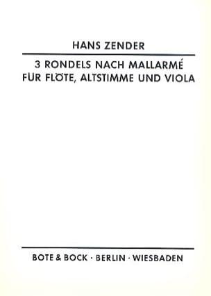 Drei Rondels nach Mallarmé 1961 - Hans Zender - laflutedepan.com