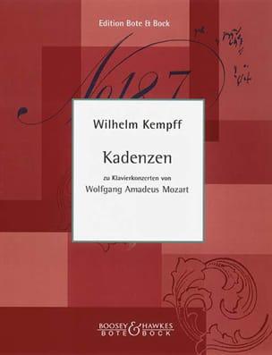 Wilhelm Kempff - Cadences pour les concertos de piano de Mozart - Partition - di-arezzo.fr
