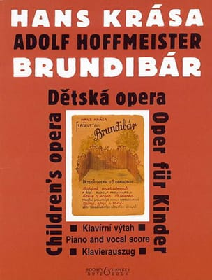 Hans Krasa - Brundibár 1938/43 - Sheet Music - di-arezzo.co.uk