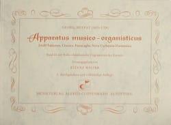 Apparatus Musico-Organisticus Georg Muffat Partition laflutedepan