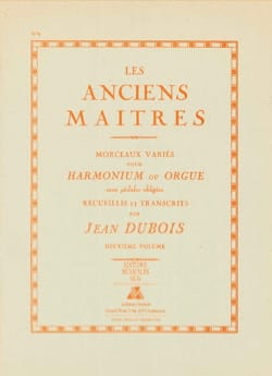 Les Anciens Maitres, Volume 2 Partition Orgue - laflutedepan