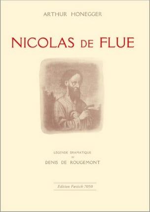 Nicolas de Flue - Arthur Honegger - Partition - laflutedepan.com