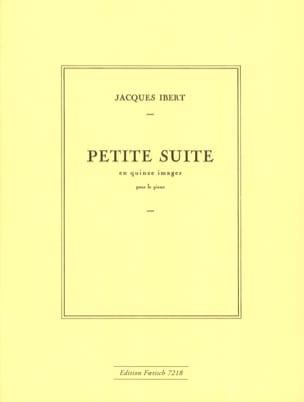 Jacques Ibert - Pequeña suite en 15 imágenes - Partitura - di-arezzo.es
