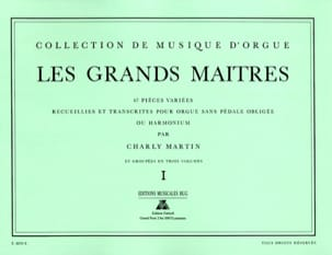 - Les Grands Maitres Volume 1 - Partition - di-arezzo.fr