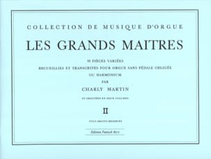 Les Grands Maitres Volume 2 Partition Orgue - laflutedepan