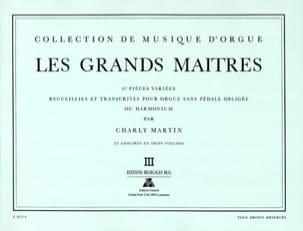 - Les Grands Maitres Volume 3 - Partition - di-arezzo.fr