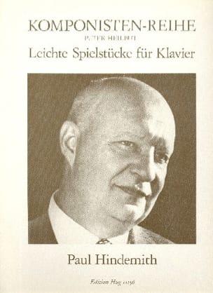 Paul Hindemith - Leichte Spielstücke - Partition - di-arezzo.fr