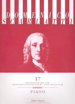 Domenico Scarlatti - 17 leichte Stücke - Partition - di-arezzo.fr