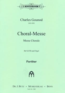 Charles Gounod - 合唱メッセ - 楽譜 - di-arezzo.jp