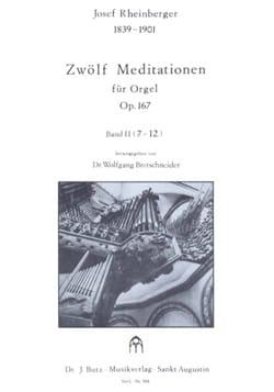 12 Meditationen Op. 167 Volume 2 laflutedepan