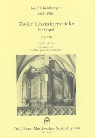 Josef Gabriel Rheinberger - 12 Charakterstücke Op. 156 Volume 1 - Sheet Music - di-arezzo.co.uk