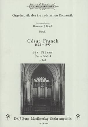 César Franck - 6 pieces. Volume 1 - Sheet Music - di-arezzo.co.uk