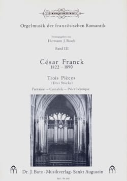 César Franck - 3 Chorals - Sheet Music - di-arezzo.co.uk
