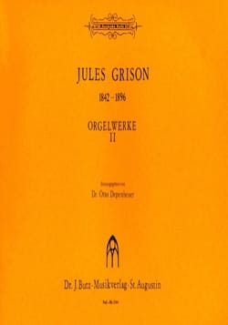 Jules Grison - Orgelwerke Volume 2 - Sheet Music - di-arezzo.co.uk