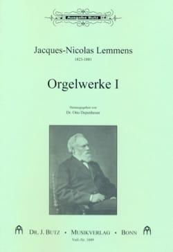 Orgelwerke. Volume 1 Nicolas-Jacques Lemmens Partition laflutedepan