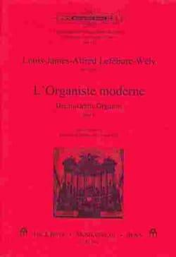 L'organiste Moderne, Volume 2 LEFÉBURE-WÉLY Partition laflutedepan