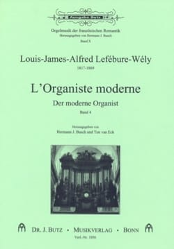 LEFÉBURE-WÉLY - L'organiste Moderne, Volume 4 - Partition - di-arezzo.fr