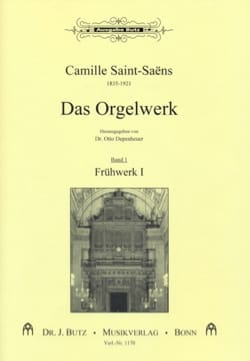 Camille Saint-Saëns - L'oeuvre D'orgue Volume 1 - Partition - di-arezzo.fr