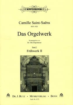 Camille Saint-Saëns - Organ Work Volume 2 - Sheet Music - di-arezzo.com
