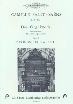 Oeuvre D'orgue Volume 3 - Camille Saint-Saëns - laflutedepan.com
