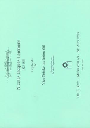 Orgelwerke. Volume 4 - Nicolas-Jacques Lemmens - laflutedepan.com