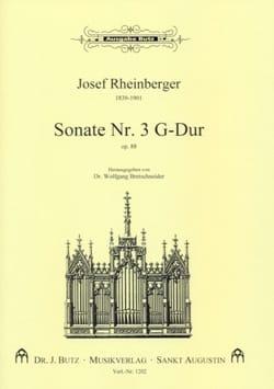 Sonate N° 3 Op. 88 - Josef Gabriel Rheinberger - laflutedepan.com