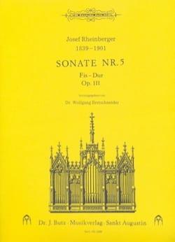 Sonate N° 5 Op. 111 - Josef Gabriel Rheinberger - laflutedepan.com