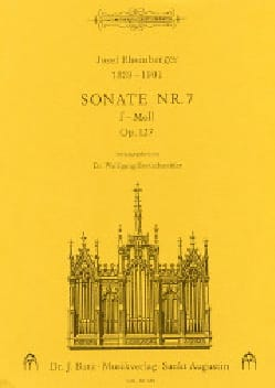 Sonate N° 7 Op. 127 - RHEINBERGER - Partition - laflutedepan.com