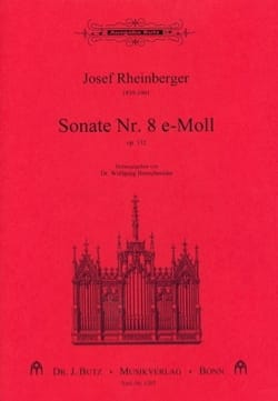 Josef Gabriel Rheinberger - Sonata No. 8 Opus 132 - Sheet Music - di-arezzo.co.uk