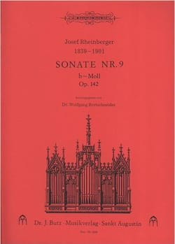Sonate N° 9 Op. 142 - Josef Gabriel Rheinberger - laflutedepan.com