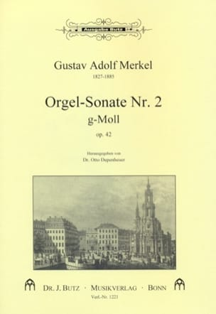 Gustav Merkel - Sonate N° 2 Sol Mineur Op. 42 - Partition - di-arezzo.fr