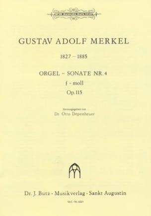 Sonate Nr. 4 F-Moll Op. 115 - Gustav Merkel - laflutedepan.com