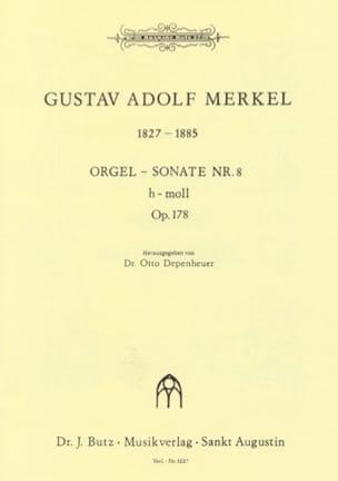 Sonate Nr. 8 si mineur Op. 178 - Gustav Merkel - laflutedepan.com