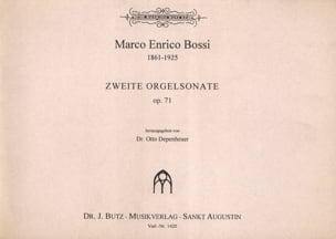 Sonate 2 Op. 71 - Marco Enrico Bossi - Partition - laflutedepan.com