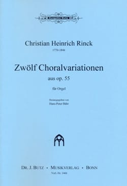 12 Choralvariationen op. 55 laflutedepan