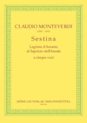Claudio Monteverdi - Sestina - Sheet Music - di-arezzo.co.uk