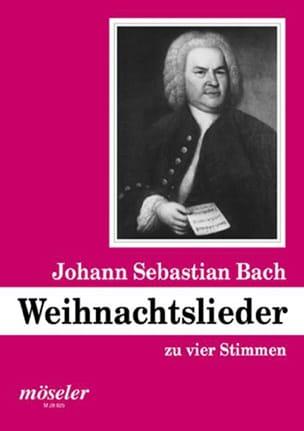 Weihnachtslieder Johann S Bach Partition Chœur - laflutedepan