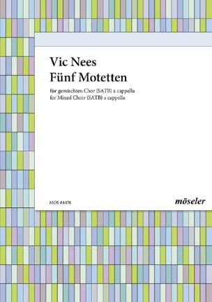 Vic Nees - 5 Motetten - Sheet Music - di-arezzo.com