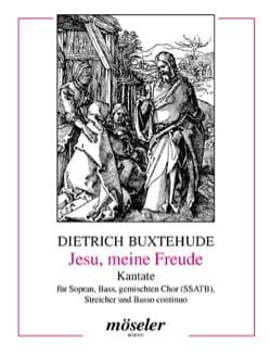 Jesu, Meine Freude. Conducteur - Dietrich Buxtehude - laflutedepan.com