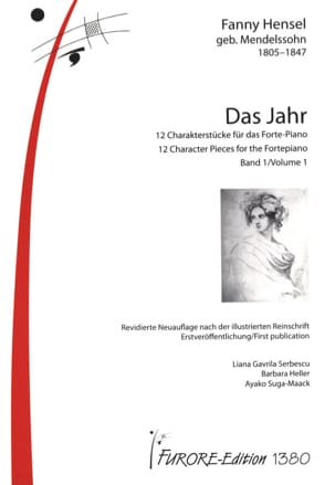 Das Jahr 2 volumes Fanny Hensel-Mendelssohn Partition laflutedepan
