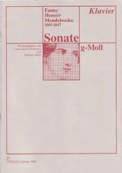 Fanny Hensel - Sonate g-moll (1843) - Partition - di-arezzo.fr