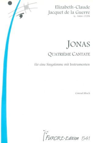 de la Guerre Elisabeth-Claude Jacquet - Jonas - Sheet Music - di-arezzo.com