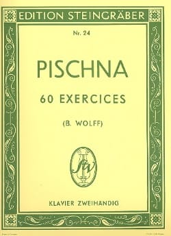 Johann Pischna - 60 Exercices progressifs - Partition - di-arezzo.fr