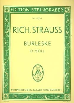 Burleske Ré Mineur. 2 Pianos - Richard Strauss - laflutedepan.com