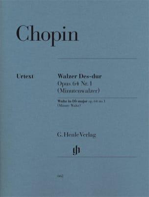 CHOPIN - Valse en Ré bémol majeur Opus 64-1 - Partition - di-arezzo.fr