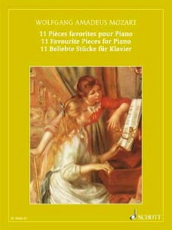MOZART - Favorite Rooms - Sheet Music - di-arezzo.com