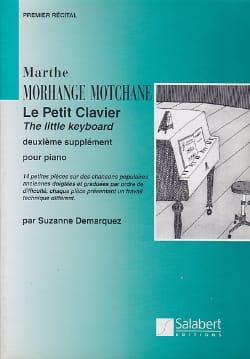 Morhange-Motchane - Le Petit Clavier Supplément N°2 - Partition - di-arezzo.fr