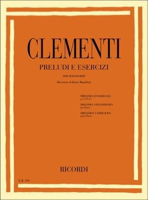 Préludes et exercices - Muzio Clementi - Partition - laflutedepan.com