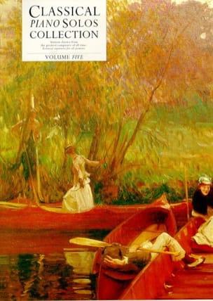 Classical Piano Solo Collection - Volume 5 - Partition - di-arezzo.fr
