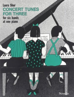 Concert Tunes For 3 Laura Shur Partition Piano - laflutedepan